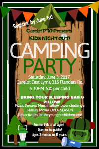 6-3-2017-Kids night-Camping Party