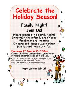 12-2-2015-East Lyme Family Fun Night- post and email to families