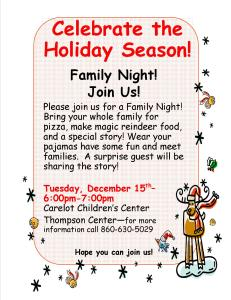 12-2-2015-Thompson Family Fun Night- post and email to families