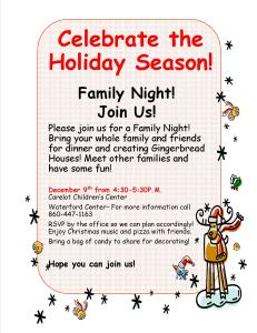 12-2-2015-Waterford Family Fun Night- post and email to families
