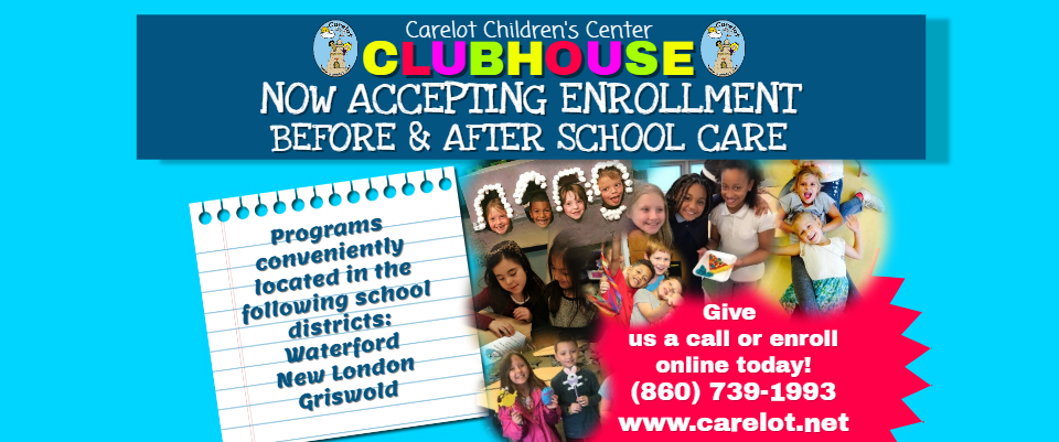 Clubhouse Enrollment Ad for website banner