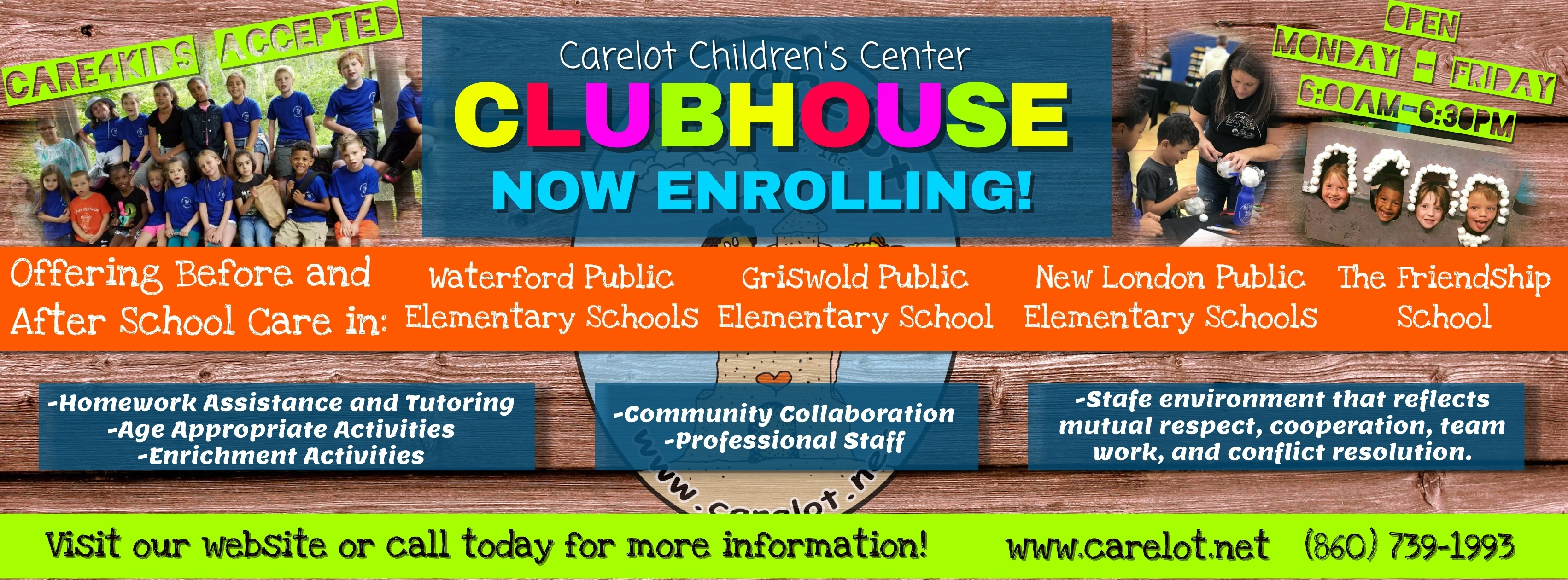 Clubhouse Enrollment